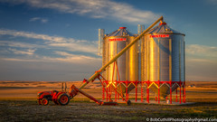 The Auger (westrock-bob) Tags: copyright tractor canada canon eos bob ab silo alberta agriculture twister 6d auger grainbin grainstorage cuthill albertatourism canon6d reddeercounty canoneos6d bobcuthillphotographygmailcom bobcuthill bobcuthillphotography travelaberta