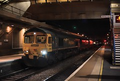 66562 Bletchley 20th November 2015 (Lorenzo's Modern Traction) Tags: lane derby bletchley tmd litchurch 66562 7x33 387205