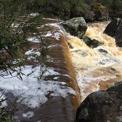 Waterfall.   Supply River.