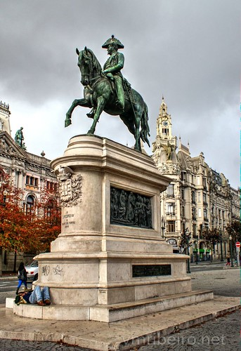Estátua equestre de D. Pedro IV