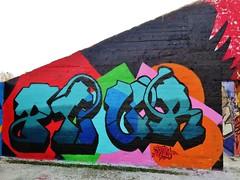 Plur / Dok Noord - 20 dec 2015 (Ferdinand 'Ferre' Feys) Tags: streetart graffiti belgium belgique belgië urbanart graff ghent gent gand graffitiart plur arteurbano artdelarue urbanarte
