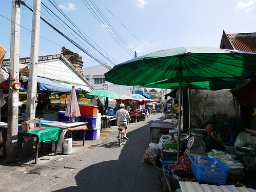 Market near Chiang Mai gate