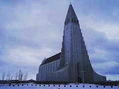 Hallgrmskirkja, Reykjavik (oldrockerward) Tags: church architecture iceland reykjavik huge bleak scandinavia epic impressive imposing hallgrmskirkja brutal
