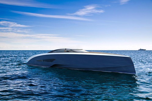 Концепт яхты Bugatti Niniette от Palmer Johnson