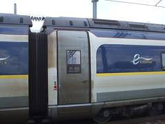 Eurostar e320 door with information screen. (DesiroDan) Tags: highspeed1 ebbsfleetinternationalstation eurostar eurostare320 eurostarclass374 class374velaro uktrains ukelectricunits highspeedtrainsintheuk britishrailclass374