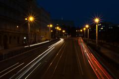 Evening traffic (AlyonaOrlova) Tags: nikon d5300 evening prague czech traffic car light road outdoor