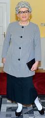 Ingrid023014 (ibach411) Tags: pleatedskirt faltenrock blazer mature