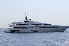 "Yacht ""Vicky"" just outside of Portofino (Kellsboro) Tags: italianriviera portofino"