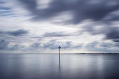 (Andy Bracey -) Tags: bracey andybracey westmersea merseaisland island mersea essex landscape seascape sea water marker horizon blur longexposure leefilters filters neutraldensity nd nikon d3s bigstopper coast coastal
