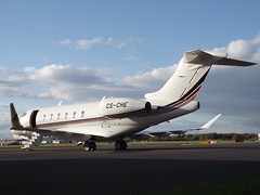 CS-CHE Bombardier Challenger 350 NetJets Europe Ltd (Aircaft @ Gloucestershire Airport By James) Tags: gloucestershire airport csche bombardier challenger 350 netjets europe ltd bizjet egbj james lloyds