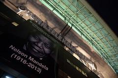Nelson Mandela (l3o_) Tags: galatasaray juventus football futbol uefa champions league ampiyonlar ligi nelson mandela ali sami yen arena trk telekom