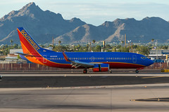 Southwest / B733 / N639SW / KPHX 08L (_Wouter Cooremans) Tags: phx phoenix arizona spotting kphx sky harbor international airport skyharborinternationalairport skyharbor phoenixskyharbor avgeek aviation airplanespotting southwest b733 n639sw 08l