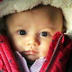 Baby love (marshmallow-milie) Tags: bebe baby portrait couleurs manteau emmitoufl hiver winter closeup enfance childhood
