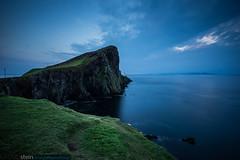 Neist Point after Sunset (Isle of Skye) (no.zomi) Tags: europa neistpoint schottland welt variotessartfe41635 zeiss carl scotland united kingdom sony a7 nature bluehour blue