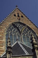 Facade, Oude Kerk (The Old Church) (DanielZelnio) Tags: amsterdam netherlands oudekerk