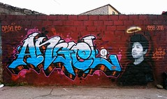 "pronto nos volveremos a ver... (""saga88 is jquatro a.k.a. wayfarer"") Tags: saga88 graffiti underground quito letters stencill spray sudamerica street mtn art familia emefe freeb vastago jquatro angel barrio"