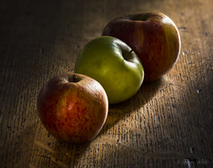 Still Life Apples (shawnraisin d+p) Tags: canon6d helicon shawnwhite apple apples calm colours dark food fruit green mood red retro stacking stilllife