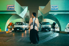 The Bus Station (White Cube Studios) Tags: abu dhabi uae national day azza mughairy waleed shah fujifilm throwback