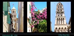 au gr des ruelles autour de la Cathdrale Split (philippedaniele) Tags: vividstriking