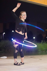 Firefish-13 (KaylaLeighann) Tags: photographer ohio canon photography rebel 5t firefish festival lorain night performance hooping dance girl woman glow light