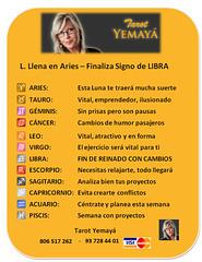 LLENA ARIES-S. LIBRA (tarotyemaya) Tags: luna nueva horscoposemanal horscopogratuito hombremujer horscopo