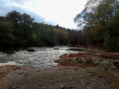 West Water below picnic area by footpath to Pimers Brig (MacP2007) Tags: angus autumn waterfalls