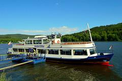 Lipnostausee,Sdbmen (Czech) (jens_helmecke) Tags: schiff ship boot boat lipnostausee wasser water moldau tschechien czech nikon jens helmecke see lake