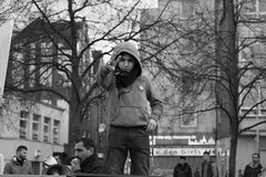 Sons 2 (Jenko_) Tags: politik kurden demo mothers streetphotography hannover kurdistan bw street