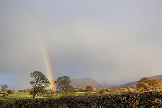 Rainbow near Sale Fell 6