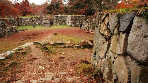 Takatori abandoned mountain castle