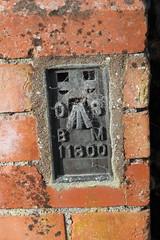 11300 (iainrmacaulay) Tags: ordnance survey flush bracket uk
