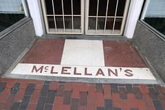 McLellan's (jschumacher) Tags: virginia petersburg petersburgvirginia terrazzo terrazzofloor
