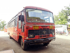 Devari - Nagpur (yogeshyp) Tags: msrtc msrtcparivartanbus st