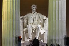 Lincoln Memorial @ Night  (10) (smata2) Tags: lincolnmemorial washingtondc dc nationscapital canon monument memorial postcard