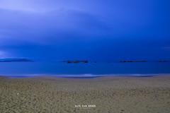 Lazareto ,Chania. (Imaginarium 2.1) Tags: lazareto island chania crete greece longexposure sand sea smooth waves night clouds sky outdoor landscape bvs bazilvansinner bazilvansinnerphotography