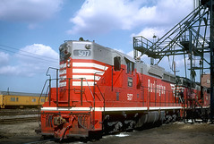CB&Q SD24 507 (Chuck Zeiler) Tags: cbq sd24 507 burlington railroad emd locomotive clyde chz