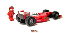 Ferrari F1 2001 (ZetoVince) Tags: f1 zeto vince zetovince lego greek car ferrari formula vehicle sport motor tutorial instruction one video