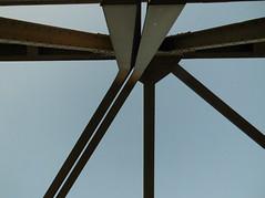 Slit - Schlitz (eckbert.sachse) Tags: pattern muster geometry geometrie bridge brcke steal stahl slit schlitz 2016 hafencity freieundhansestadthamburg freeandhansatownofhamburg