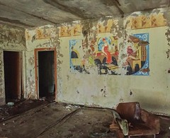 Barber Shop Hairdresser- Pripyat (Chernobyl Exclusion Zone)_1 - Copy (Landie_Man) Tags: none hair salon pripyat care haircare barber hairdressers disused derelict haircut cut pamper hairdo cutting scissors style radiation radioactive ionising sad abandoned closed community neighbourhood neighbours