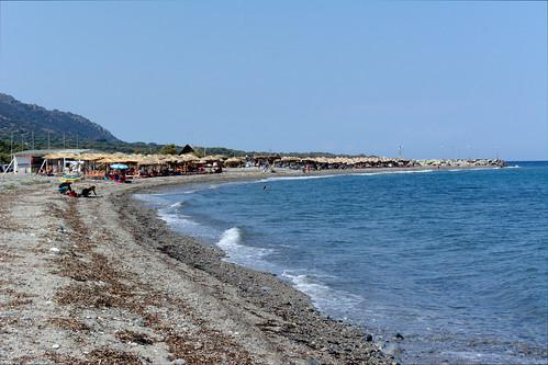 View of Saoki beach bar