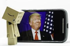 Wally Danbo & Donald Trump (Stephen Reed) Tags: donaldtrump danbo ministudio d7000 nikon lightroomcc photoshopcc usa america