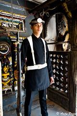 Guard in traditional uniform (Pandster1981) Tags: a77 durbarsquare honeymoon kathmandu nepal royalpalace sigma1020mmf35exdchsm sonya77