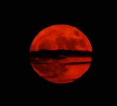 Divided Super Moon (Kotsikonas Elias) Tags: supermoon moon athens greece nikon d3300 luna lunar