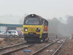 70808 Liskeard (5) (Marky7890) Tags: colasrail class70 70808 6c36 liskeard cornwall train railway