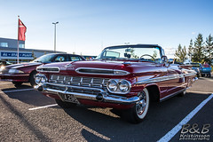 Chevrolet Impala Convertible 59 (B&B Kristinsson) Tags: krsercarclub krser krserkvld cruisenight reykjavik iceland chevroletimpala chevyimpala chevrolet chevy impala 1959