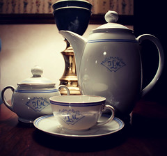 Be Our Guest (Jules (Instagram = @photo_vamp)) Tags: teaset tea beourguest beautythebeast fairytales photochallenge china