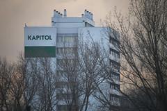 Kapitol (achudziak) Tags: cracow 3m5ca mc krakw agh dormitory 500mm f8 tree