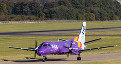 G-LGNI SAAN 340, Edinburgh (wwshack) Tags: edi egph edinburgh edinburghairport flybe loganair saab340 scotland turnhouse glgni