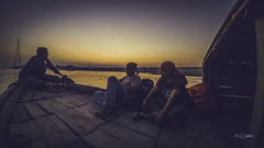 Evening @Meghna River (Shahriar (Phone Clicker :P)) Tags: mobilography camping campsite meghna araihazar