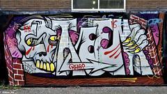 Den Haag Graffiti : STEEN (Akbar Sim) Tags: steen denhaag thehague agga holland nederland netherlands graffiti fruitweg akbarsim akbarsimonse